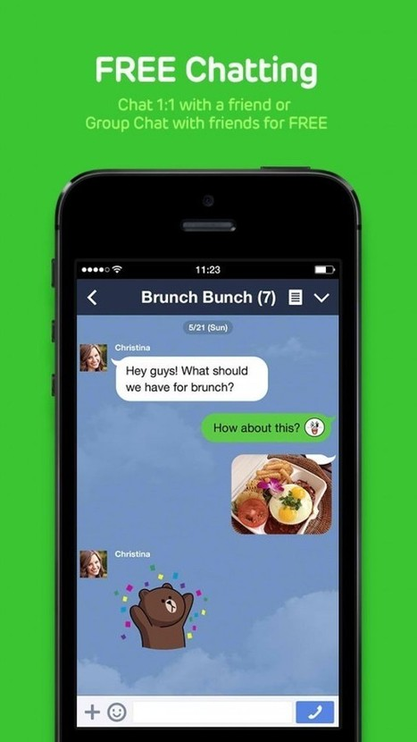 Line gains new Snapchat-like 'hidden chats' feature for ephemeral messaging -- AppAdvice | SAFEWIRE.it secure file transfer | Scoop.it