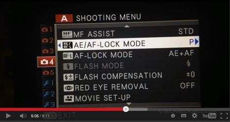 Fujifilm X-T1 Menu Structure Walkthrough | Michael R. Cruz | Fuji X-Pro1 | Scoop.it