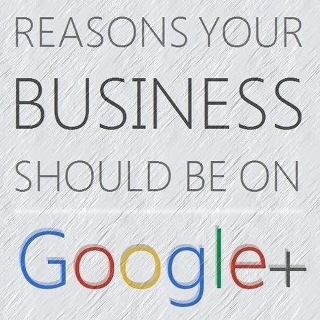 Google+ for Businesses [INFOGRAPHIC] | Social Media Today | social media | Scoop.it