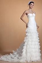 [EUR 289,99] Carlyna 2014 Nouveauté Magnifique Perles Sirène Robe de Mariée(C37144607) | robe de mariée, robe de soirée | Scoop.it