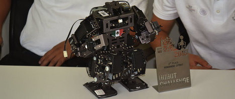 Gold for Mexican students in global robotics tourney - El Daily Post | Robots in Higher Education | Scoop.it