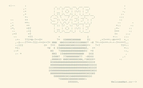 WelcomeMat.co | ASCII Art | Scoop.it