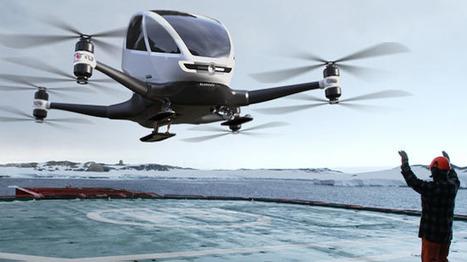 Des drones pour transporter les organes artificiels pour les greffes... | innovation & e-health | Scoop.it