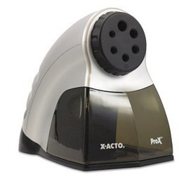 X-ACTO ProX Electric Pencil Sharpener with SmartStop, Gray and Black (1612) Review - | Best Electric Pencil Sharpener Reviews | Scoop.it