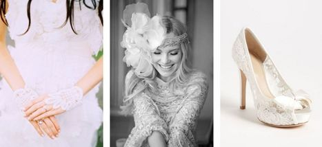 Lace Wedding Ideas, Wedding Inspiration; Lace Wedding Pictures ...   Weddings and Such   Scoop.it