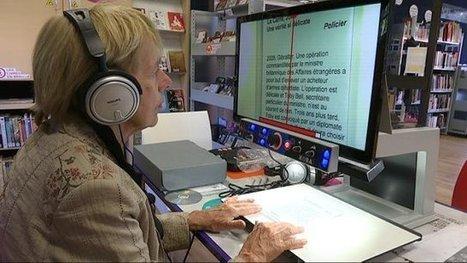 Dijon : la médiathèque du Port-du-Canal ouvre un espace pour les malvoyants (France 3 Bourgogne) | Bibliothèque et Techno | Scoop.it