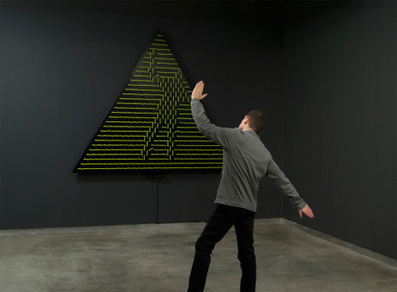 Interactive Sculpture Echoes the Movements of Spectators | Concept | Scoop.it