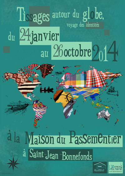 Exposition «Tissages autour du globe»   LIZYBIZ TEXTILE PRINTS   Scoop.it