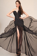 [EUR 109,99] eDressit 2013 Nouvauté Fashionable Noire Robe de Soirée (00120500) | robes chez edressit | Scoop.it