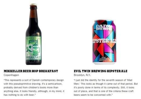 Graphic Designer Milton Glaser Critiques Craft Beer Art | Print still a design force | Scoop.it