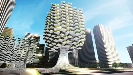 This Tree-Shaped Farm-On-A-Skyscraper Could Bring Acres Of Crops Into The City | Environmental design | Scoop.it