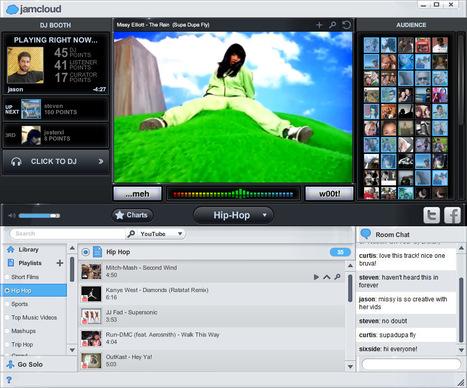 JamCloud, un lecteur social de musiques et vidéos !   Time to Learn   Scoop.it