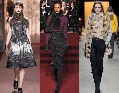 Шарфы, горжетки и платки осень-зима 2013/2014 | Мода и стиль | Аксессуары 2013-2014 | Scoop.it