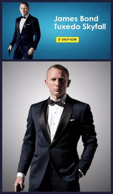 James Bond Tuxedo Skyfall | Hollywood Update News | Scoop.it