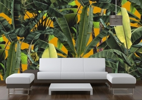 In the jungle | Interior Wallpaper | Scoop.it