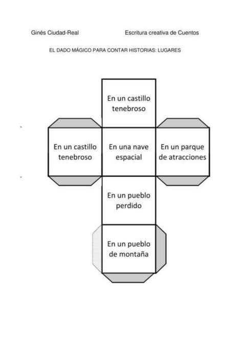 Colección de Dados mágicos para crear cuentos Incluye Tutorial de uso | Orientacion Andujar | Red Profesional de Bibliotecas Escolares de Granada | Scoop.it