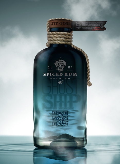 Ghost Ship Rum on Packaging of the World - QRcode | Tag 2D & Vins | Scoop.it