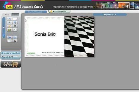 AllBusinessCards, diseña tu tarjeta de presentación en menos de 5 minutos | Las TIC y la Educación | Scoop.it