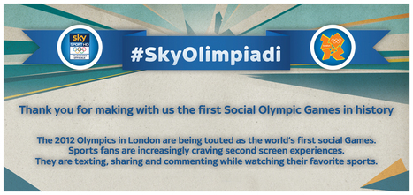 Quali scenari per il marketing sportivo e la social TV? Dopo #SkyOlimpiadi, #SkySerieA, #SkyUCL e #SkyEL | INFOGRAPHICS | Scoop.it
