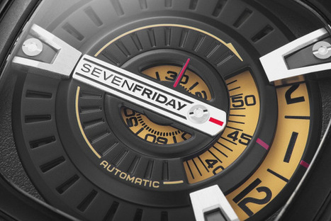 Second Time Around. The new SevenFriday M-series - The Everyday Man   luxury watches   Scoop.it