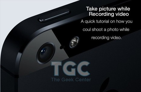 How to take a picture while recording video on your iPhone, iPad or iPod Touch? | iPads in Education | #edpad | Scoop.it