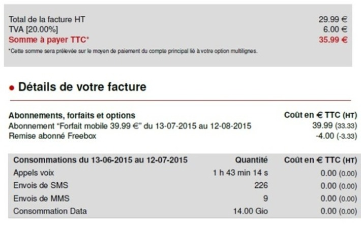 """Free Mobile forfait à 39,99 € : attention aux reconductions tacites !   Argent et Economie """"AutreMent""""   Scoop.it"""