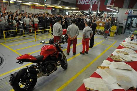 Monster 1200 Start of Production | Ducati | Ductalk Ducati News | Scoop.it
