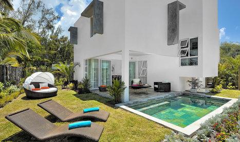 So Beach Villa contemporary design, private pool in Mauritius | Holiday rental in Mauritius | Scoop.it