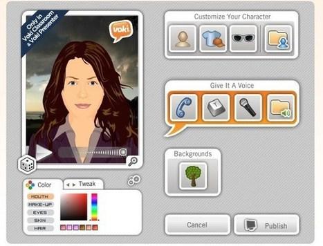Voki. Dotez-vous d'un avatar numérique pour animer vos présentations – Les Outils Tice | Éducation, TICE, culture libre | Scoop.it