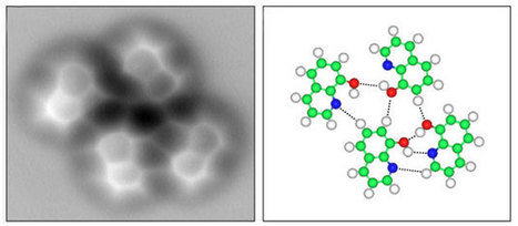 First pictures of hydrogen bonds unveiled | Chemistry World | Chemistry | Scoop.it