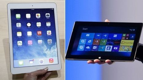 Tablet smackdown: Apple, Microsoft unveil newest gadgets | electronic management and recycling firm | Scoop.it