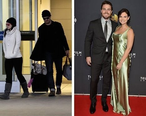 Stephen Amell, Cassandra Jean make first appearance as newlyweds at Canadian Screen Awards | Arrow  Stephen Amell | Scoop.it