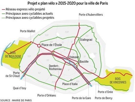 Un plan pour faire de Paris la « capitale du vélo » | Le flux d'Infogreen.lu | Scoop.it