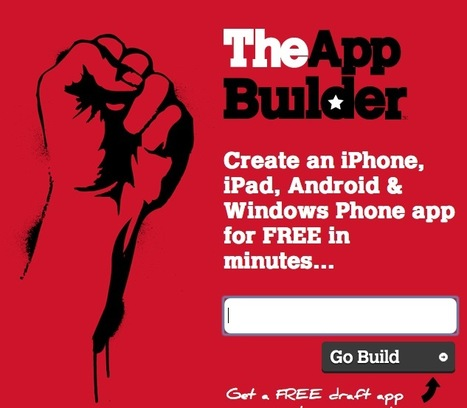 Build a Custom Mobile App That Works Across iOs, Android and Windows for $29/mo: TheAppBuilder | Mobile Websites vs Mobile Apps | Scoop.it