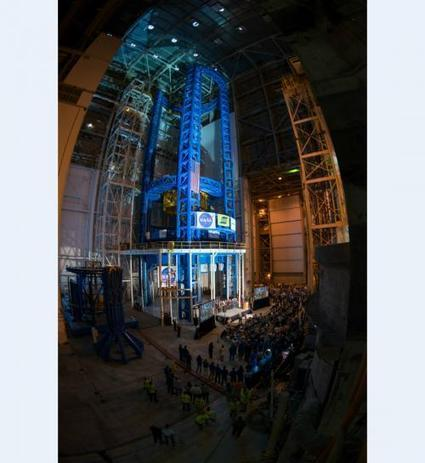 NASA unveils world's largest spacecraft welding tool for space launch system   Amazing Science   Scoop.it