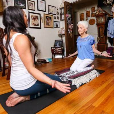 This 86 Years Old Grandma Proves Yoga Can Keep You Young! » StoryDecker | Online News | Scoop.it