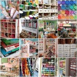 Craft Room Ideas, Designs and Organization | Craft Crazy | Scoop.it
