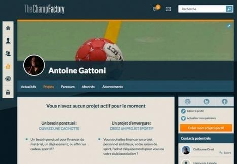 [Maddypitch] TheChampFactory, le 1er réseau communautaire entièrement dédiée au sport - Maddyness   Veille web, social media   Scoop.it