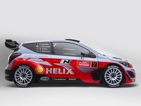 Hyundai i20 WRC car would be displayed at the upcoming Auto Expo   Upcoming Bikes And Cars   Scoop.it
