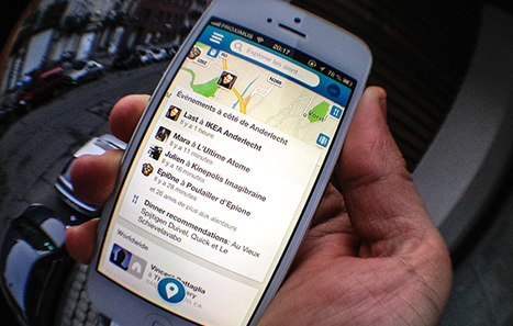 Foursquare : 3,5 milliards de « check-ins » et une refonte de l'appli | Social media | Scoop.it