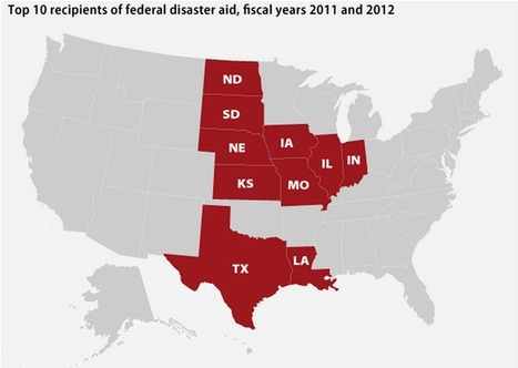 Daily Kos: The states that get the most natural disaster aid sent 47 climate-change deniers to Congress | Google Lit Trips: Reading About Reading | Scoop.it