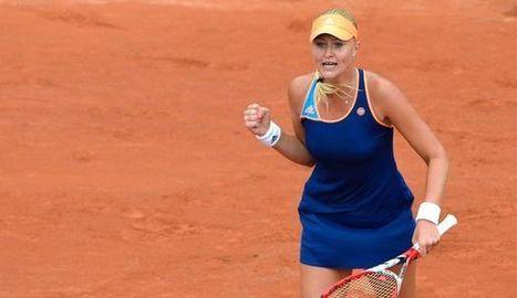 Roland-Garros: la Française Kristina Mladenovic se qualifie pour le troisième tour | Golf, infos et insolite avec Fasto sport | Scoop.it