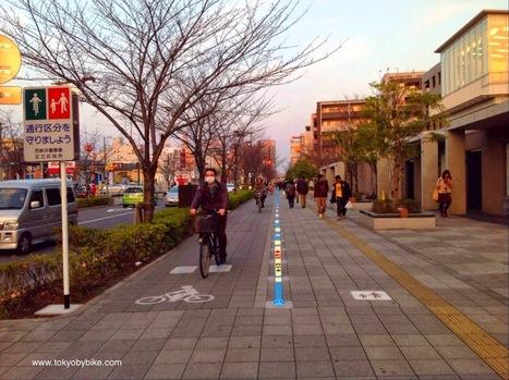 Tokyo Bicycle Lane Improvements ~ Tokyo By Bike   Tokyo By Bike   Scoop.it