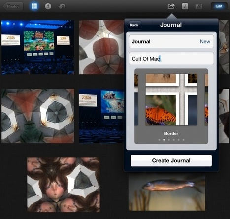 Learn The Best Ways To Use iPhoto For iPad [Feature]   Cult of Mac   Creating on the iPad   Scoop.it