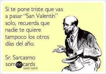 Si te pone triste San Valentín... | valentin | Scoop.it