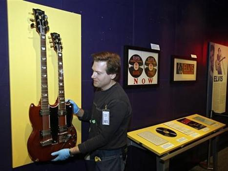 Elvis items featured at Rock and Roll Hall of Fame - Entertainment ... | Elvis Presley | Scoop.it