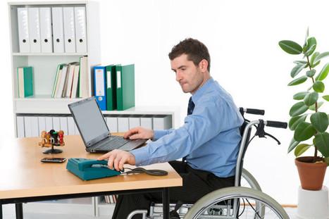 Les nouvelles technologies dopent l'emploi des handicapés | Faire de la diversité un levier de performance | Scoop.it