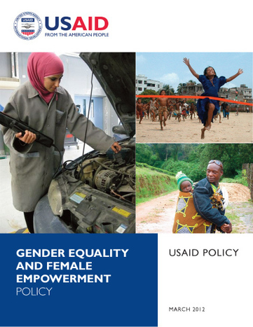USAID Policy on Gender and Female Empowerment | U.S. Agency for International Development | Everyday Leadership | Scoop.it