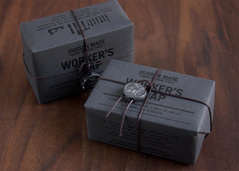 Hudson Made Worker's Soap Designed by Hovard Design | Packaging Design Ideas | Scoop.it
