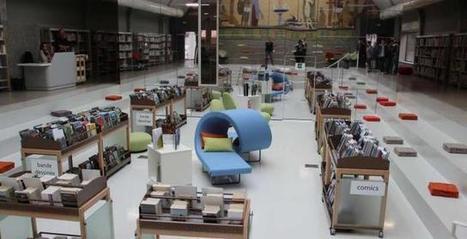 La médiathèque Aqua Libris a ouvert ses portes - 23/09/2015, Saint-Maixent-l'École (79) - La Nouvelle République | Planète Livres | Scoop.it